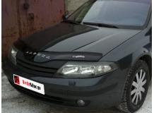 Дефлектор капота Renault Laguna II /2000-2005/. Мухобойка Рено Лагуна [Vip Tuning]