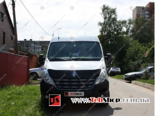 Дефлектор капота Renault Master III /2010-2014/. Мухобойка Рено Мастер [Vip Tuning]