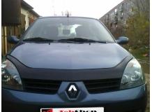 Дефлектор капота Renault Symbol I /2001-2008, FL/. Мухобойка Рено Симбол [Vip Tuning]