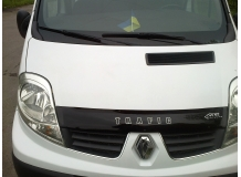 Дефлектор капота Renault Trafic II /короткий, 2001-2014/. Мухобойка Рено Трафик [Vip Tuning]