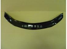 Дефлектор капота Subaru Impreza III /2007-2011/. Мухобойка Субару Импреза [Vip Tuning]