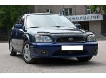 Дефлектор капота Subaru Legacy III /1998-2003/. Мухобойка Субару Легаси [Vip Tuning]