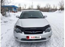 Дефлектор капота Subaru Legacy IV /2003-2009/. Мухобойка Субару Легаси [Vip Tuning]