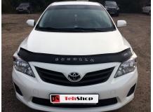Дефлектор капота Toyota Corolla X (E140) /2006-2013/. Мухобойка Тойота Королла [Vip Tuning]