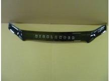 Дефлектор капота Toyota Highlander I (U20) /2000-2007/. Мухобойка Тойота Хайлендер [Vip Tuning]