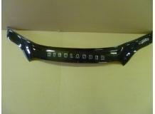 Дефлектор капота Toyota Highlander II (U40) /2007-2010/. Мухобойка Тойота Хайлендер [Vip Tuning]