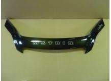 Дефлектор капота Toyota Matrix I (E130) /2002-2008/. Мухобойка Тойота Матрикс [Vip Tuning]