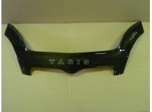 Дефлектор капота Toyota Yaris I /1999-2006/. Мухобойка Тойота Ярис [Vip Tuning]