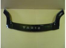 Дефлектор капота Toyota Yaris II /Хэтчбек, 2005-2011/. Мухобойка Тойота Ярис [Vip Tuning]