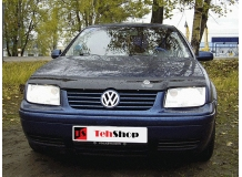 Дефлектор капота Volkswagen Bora /1998-2005/. Мухобойка Фольксваген Бора [Vip Tuning]