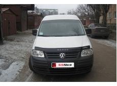 Дефлектор капота Volkswagen Caddy III /2004-2010/. Мухобойка Фольксваген Кадди [Vip Tuning]