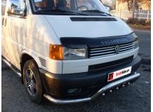 Дефлектор капота Volkswagen Caravelle T4 /1990-1998/. Мухобойка Фольксваген Каравелла [Vip Tuning]