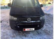Дефлектор капота Volkswagen Caravelle T5 /2009-2015, FL, T2/. Мухобойка Фольксваген Каравелла [Vip Tuning]