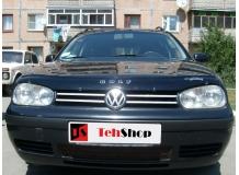 Дефлектор капота Volkswagen Golf IV /1997-2004/. Мухобойка Фольксваген Гольф [Vip Tuning]