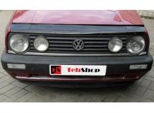Дефлектор капота Volkswagen Jetta II /1984-1992/. Мухобойка Фольксваген Джетта [Vip Tuning]