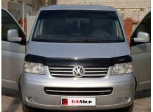 Дефлектор капота Volkswagen Multivan T5 /2003-2010, T1/. Мухобойка Фольксваген Мультиван [Vip Tuning]