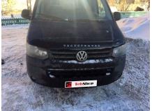 Дефлектор капота Volkswagen Multivan T5 /2009-2015, FL, T2/. Мухобойка Фольксваген Мультиван [Vip Tuning]