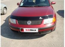 Дефлектор капота Volkswagen Passat B5 /1996-2001/. Мухобойка Фольксваген Пассат [Vip Tuning]