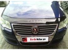 Дефлектор капота Volkswagen Passat B6 /2005-2010/. Мухобойка Фольксваген Пассат [Vip Tuning]