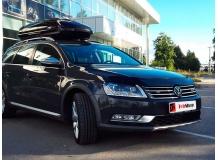 Дефлектор капота Volkswagen Passat B7 Alltrack /2011-2015/. Мухобойка Фольксваген Пассат Алтрек [Vip Tuning]