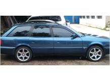 Дефлекторы окон Audi 100 (C4) /Универсал, 1990-1994/. Ветровики Ауди 100 [Cobra]