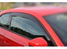 Дефлекторы окон Audi A1 (8X) /2010+, 3D/. Ветровики Ауди А1 [Cobra]