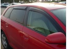 Дефлекторы окон Audi A3 (8P) /Хэтчбек, 2003-2012/. Ветровики Ауди А3 [Cobra]