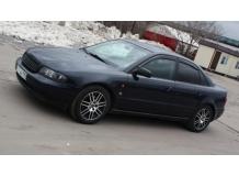 Дефлекторы окон Audi A4 (B6) /2001-2005, Седан/. Ветровики Ауди А4 [Cobra]