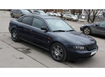 Дефлекторы окон Audi A4 (B7) /2005-2008, Седан/. Ветровики Ауди А4 [Cobra]