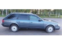 Дефлекторы окон Audi A6 (C4) /Универсал, 1994-1997/. Ветровики Ауди А6 [Cobra]