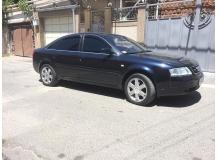 Дефлекторы окон Audi A6 (C5) /Седан, 1997-2004/. Ветровики Ауди А6 [Cobra]