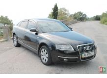 Дефлекторы окон Audi A6 (C6) /Седан, 2004-2011/. Ветровики Ауди А6 [Cobra]