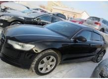 Дефлекторы окон Audi A6 (C7) /Седан, 2011+/. Ветровики Ауди А6 [Cobra]
