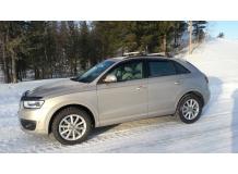 Дефлекторы окон Audi Q3 /2011+/. Ветровики Ауди Q3 [Cobra]