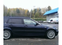 Дефлекторы окон BMW 3 (E46) /Универсал, 1998-2006/. Ветровики БМВ 3 серии [Cobra]