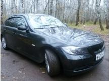 Дефлекторы окон BMW 3 (E90) /Седан, 2005-2012/. Ветровики БМВ 3 серии [Cobra]