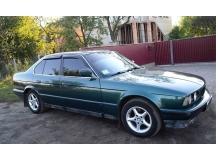 Дефлекторы окон BMW 5 (E34) /Седан, 1988-1996/. Ветровики БМВ 5 серии [Cobra]