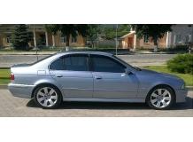 Дефлекторы окон BMW 5 (E39) /Седан, 1995-2003/. Ветровики БМВ 5 серии [Cobra]
