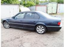 Дефлекторы окон BMW 7 (E38) /1994-2001/. Ветровики БМВ 7 серии [Cobra]