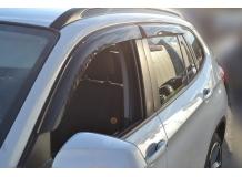 Дефлекторы окон BMW X1 (E84) /2009-2015/. Ветровики БМВ Х1 серии [Cobra]