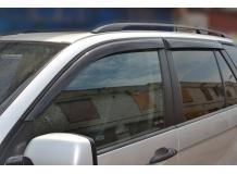 Дефлекторы окон BMW X5 (E53) /1999-2006/. Ветровики БМВ Х5 серии [Cobra]