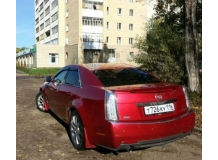 Дефлекторы окон Cadillac CTS II /2007-2013/. Ветровики Кадиллак ЦТС [Cobra]