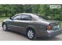 Дефлекторы окон Chevrolet Evanda /2004-2006/. Ветровики Шевроле Эванда [Cobra]