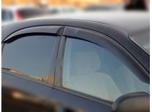 Дефлекторы окон Chevrolet Lacetti /Хэтчбек, 2003+/. Ветровики Шевроле Лачетти [Cobra]
