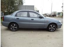 Дефлекторы окон Chevrolet Lanos /Седан, 2005-2009/. Ветровики Шевроле Ланос [Cobra]