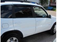 Дефлекторы окон Chevrolet Niva /2002+/. Ветровики Шевроле Нива [Cobra]