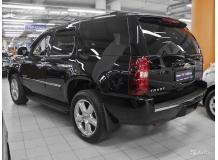 Дефлекторы окон Chevrolet Tahoe III /2006-2014/. Ветровики Шевроле Тахо [Cobra]
