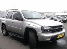 Дефлекторы окон Chevrolet Trailblazer I /2002-2010/. Ветровики Шевроле Трейлблейзер [Cobra]