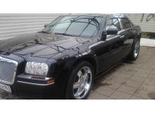 Дефлекторы окон Chrysler 300C /2004-2011/. Ветровики Крайслер 300Ц [Cobra]