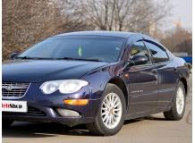 Дефлекторы окон Chrysler 300M /1998-2004/. Ветровики Крайслер 300М [Cobra]